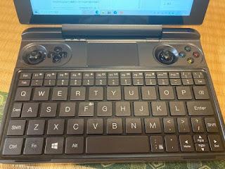 GPD Winmax のキーボード配列