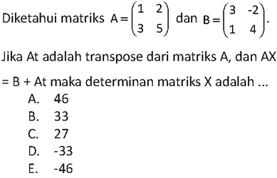 contoh soal skb guru matematika cpns 2019
