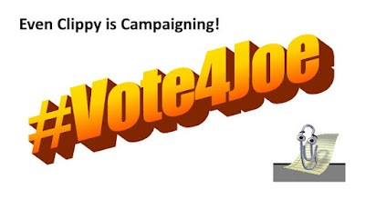 #Vote4Joe MEME- Clippy - gvan42