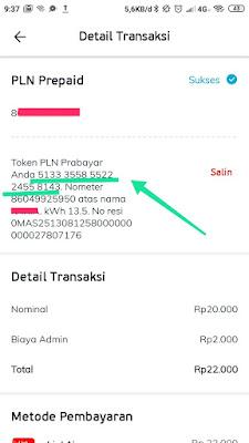 cara beli token listrik di aplikasi linkaja