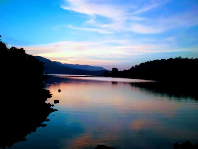 A Beautiful Evening at Bamnoli Satara