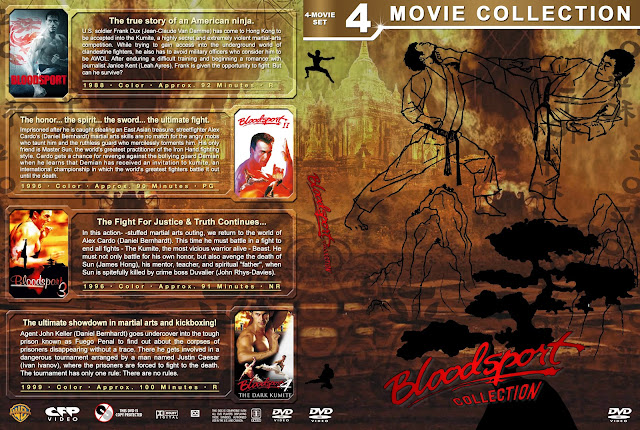 Bloodsport Collection DVD Cover