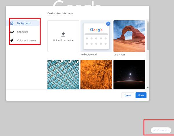 Cara mengubah Warna dan Tema Chrome