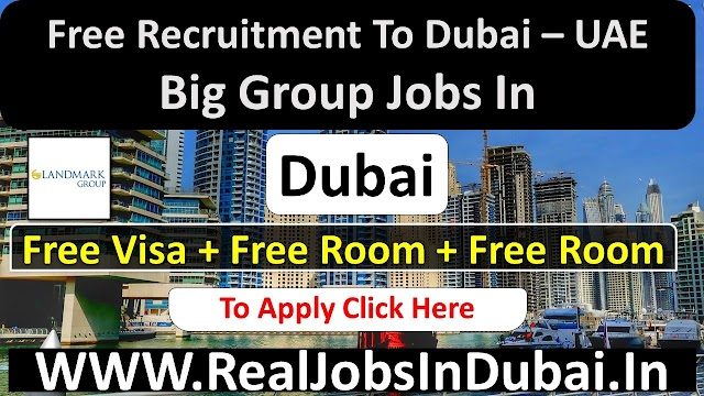 Landmark Group Hiring Staff In Dubai  UAE 2021