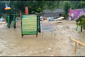 Lokasi Wisata Diterjang Banjir Bandang, Fasilitas Rusak
