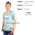 Kaos Greenlight warna hijau