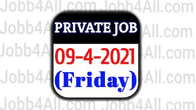 Latest jobs 2021