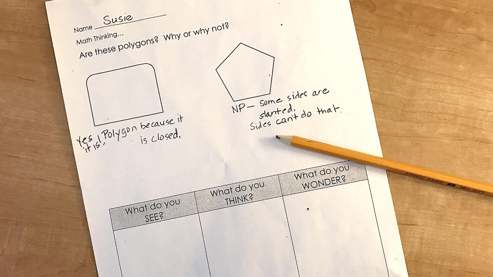 One Math Strategy To Get Your Students Thinking
