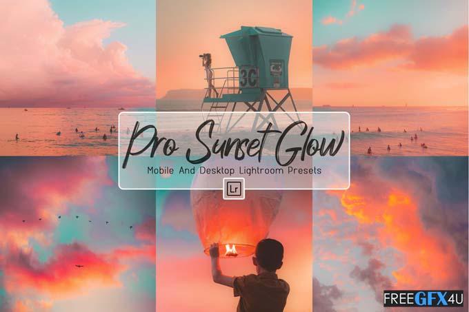 10 ProSunset Glow Mobile & Lightroom