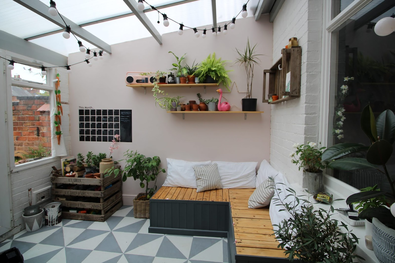 turning a conservatory into a garden room