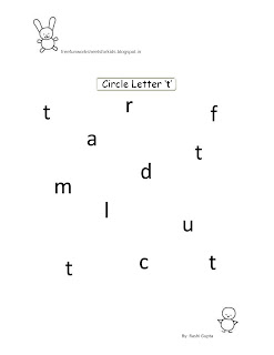 free fun worksheets for kids free printable fun worksheets for class nursery circle the letter. Black Bedroom Furniture Sets. Home Design Ideas
