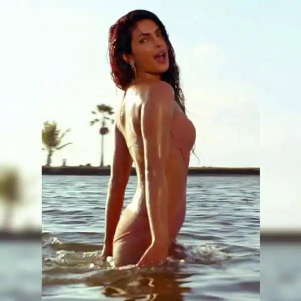 priyanka chopra bikini photos