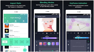 Alight Motion — Video and Animation Editor v2.8.0 (Mod, Premium Unlocked) for Android