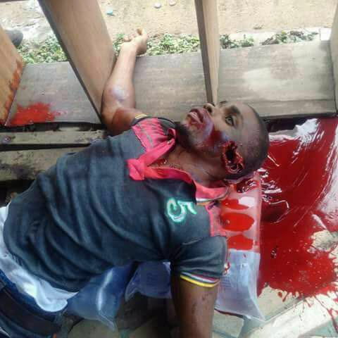 Very graphic: Cultist shot dead by rival group in Calabar