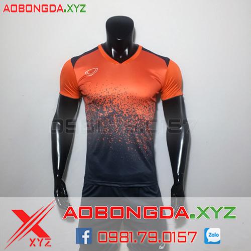 Áo Không Logo Mã XYZ-04 2020 Màu Cam Đen