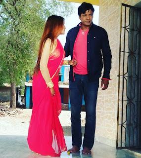 nilu shankar singh with viraj bhat