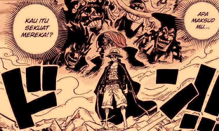 Kekuatan Baru Monkey D Luffy di Chapter 1001