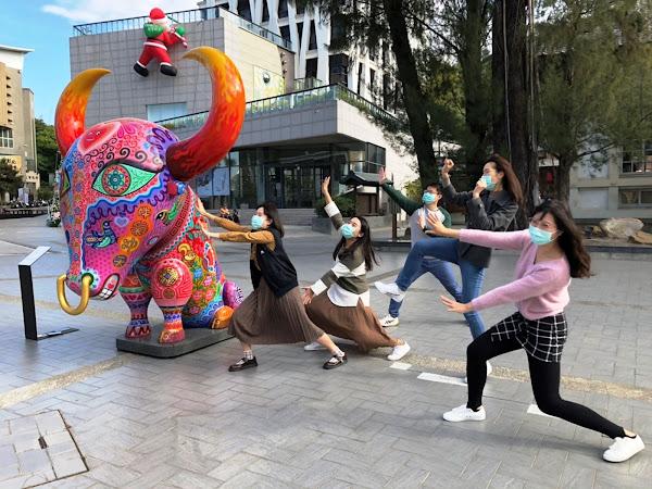 創意打春牛帶您轉新運 春遊彰化公共藝術作品