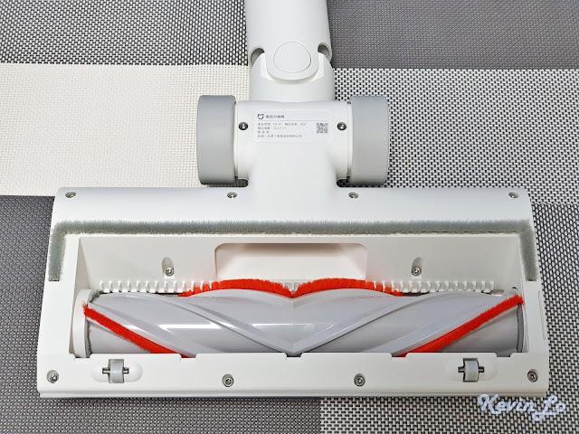 【MI 小米】米家無線吸塵器 G9 (白色) 開箱_高扭力地刷底部