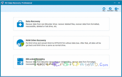 M3 Data Recovery Professional 5.6 Latest Full