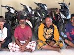 4 Spesialis Maling Ternak dan Motor di Pekat Akhirnya Dibekuk Polisi