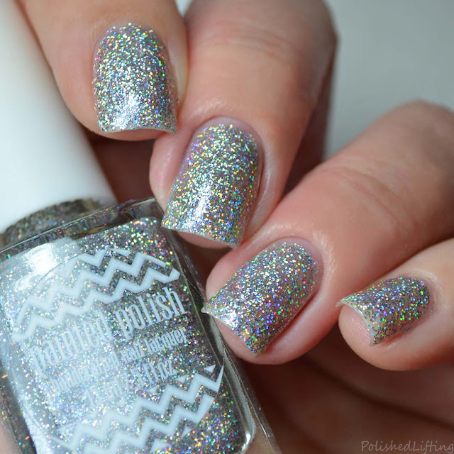 holographic glitter nail polish