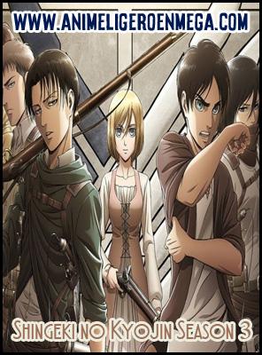 Shingeki no Kyojin Season 3: Todos los Capítulos (12/12) [MEGA] TV - HDL