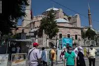 واخيرأ عاد مسجد ايا صوفيا الى احضان المسلمين