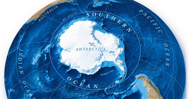 Ocean Nearby Antarctica ,World's Fifth Ocean By National Geographic
