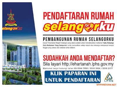 Permohonan Rumah Selangorku LPHS Online