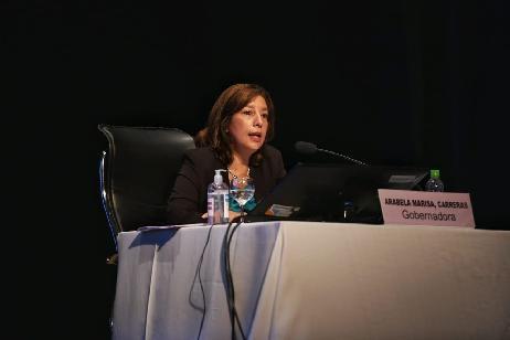 Carreras anunció que la tarjeta del RN Nutre llegará a 27.000 familias