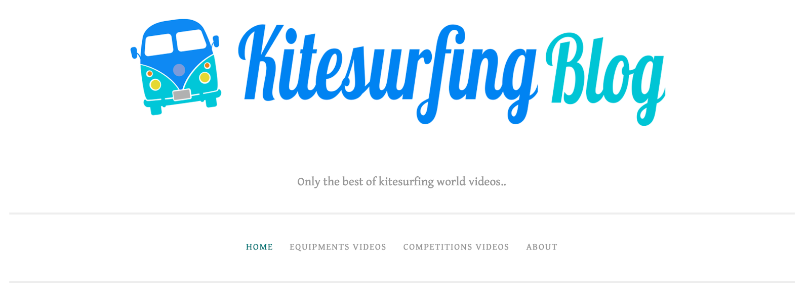 Kitesurfing Blog on WordPress