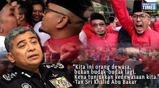 IGP bidas perangai 'budak-budak' Pemuda Umno dan Pemuda Bersatu