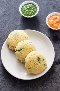 How to make MTR style instant rava idli at www.oneteaspoonoflife.com