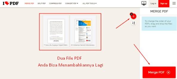 Cara Menggabungkan PDF Online di HP Tanpa Aplikasi