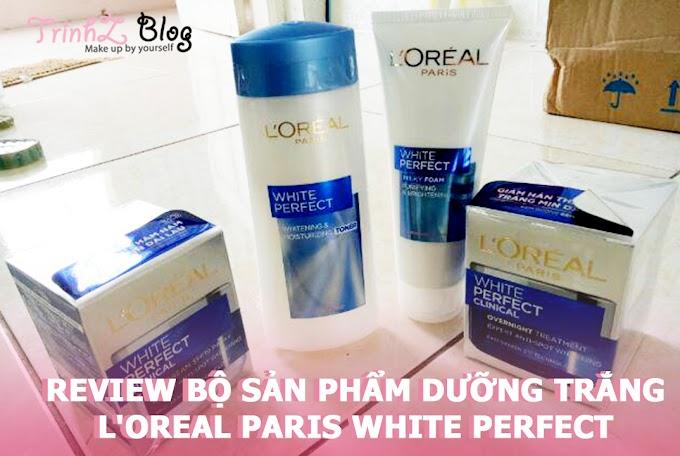 [REVIEW] Có gì ở bộ sản phẩm dưỡng trắng da của L'oreal có giá chưa đến 500.000đ ?