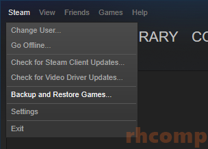 Cara Mengcopy Game di Steam ke Komputer Lain