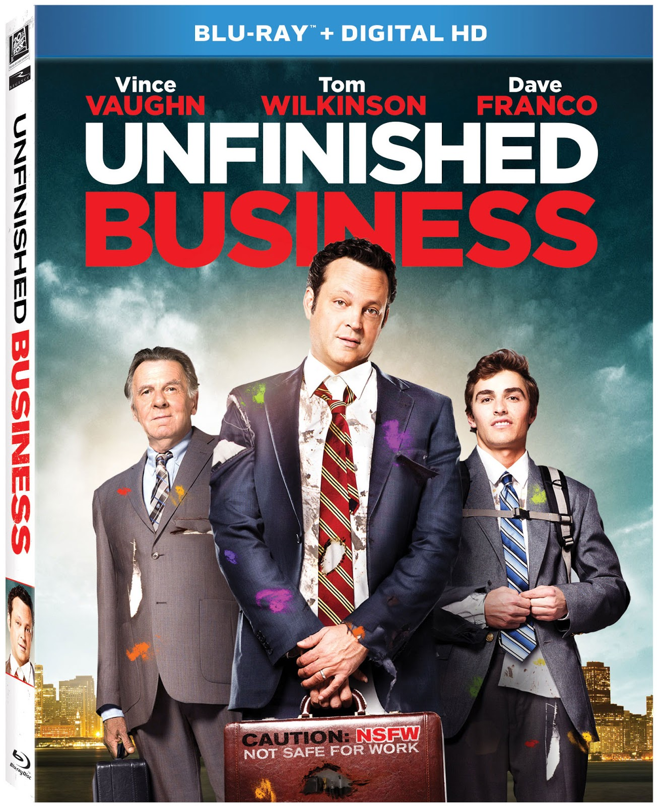 Unfinished Business (2015) 1080p BD25 Cover Caratula