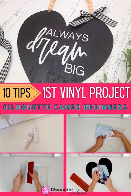 silhouette 101, silhouette america blog, cameo 4, silhouette cameo beginner, beginner project