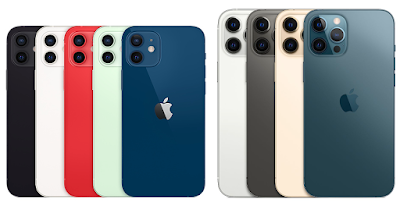 iPhone 12 Mini, iPhone 12, iPhone 12 Pro and iPhone 12 Pro Max