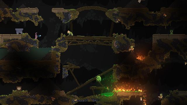 Screenshot Gameplay Noita PC