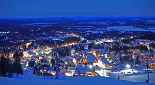 Best Honeymoon Destinations in December  lapland