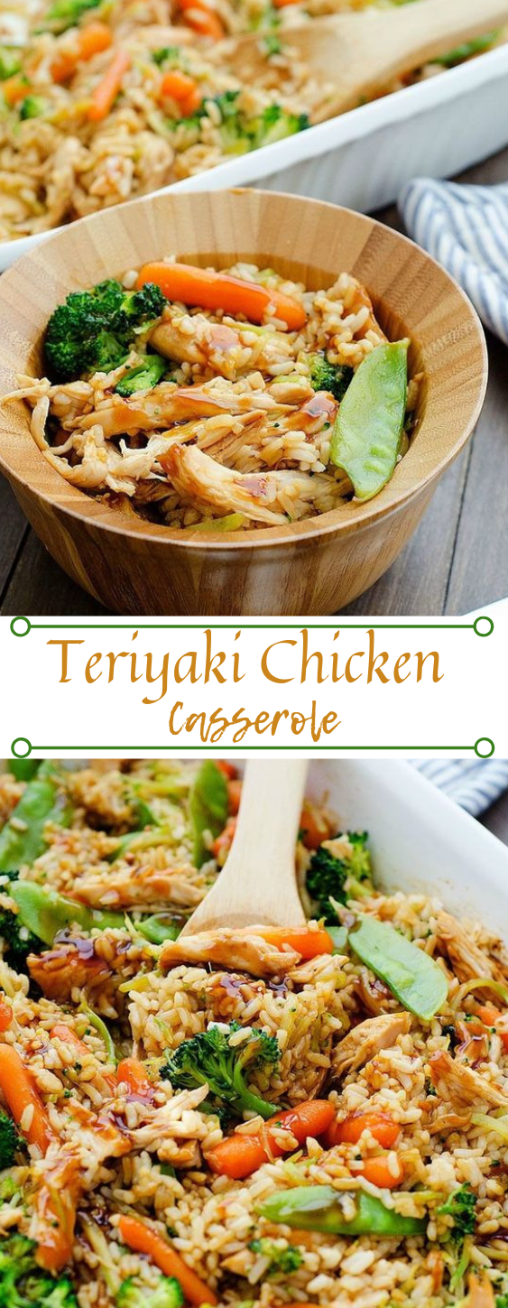 Teriyaki Chicken Casserole #dinner #teriyaki #food #healthy chicken