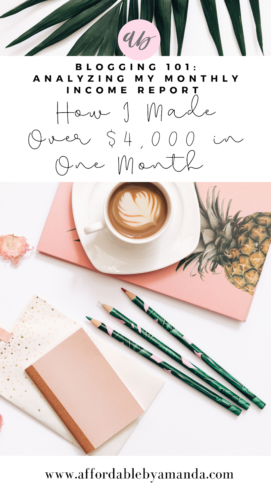 How I Made Over $4,000 In One Month of Blogging: July Online Income Report