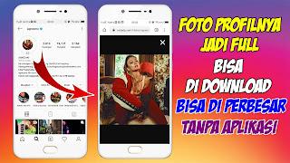 Cara Melihat Foto Profil Instagram Orang Lain Secara Full Screen