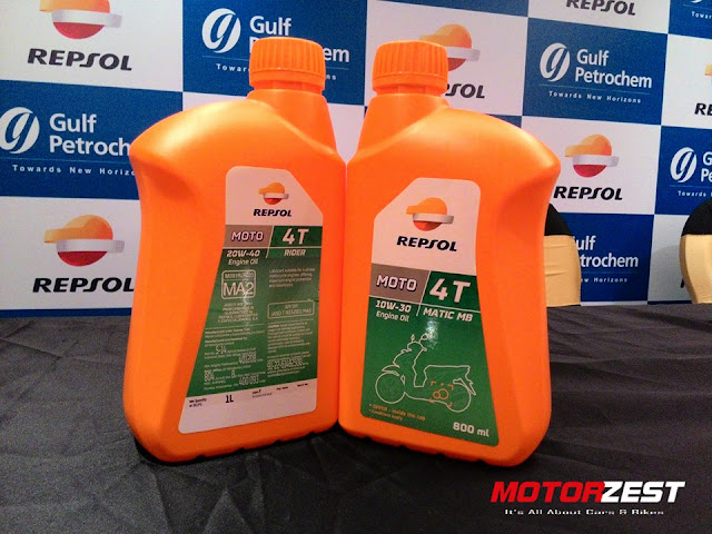 Gulf Petrochem Introduces Repsol Lubricants In India