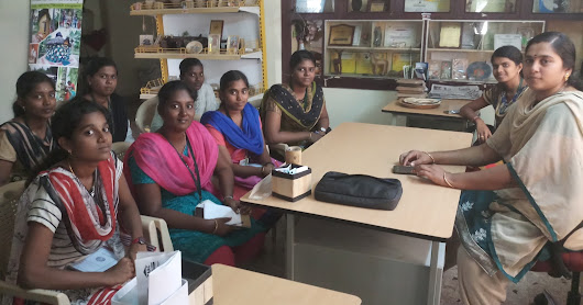 Students Internship Programme on Areca Leaf Plates Making/Banana fibre Project/Coir Pot Making