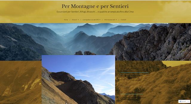 Il Blog di montagna di Andrea BINOTTO