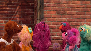 Sesame Street Episode 4304 Baby Bear Comes Clean, baby bear, abby, zoe, Telly