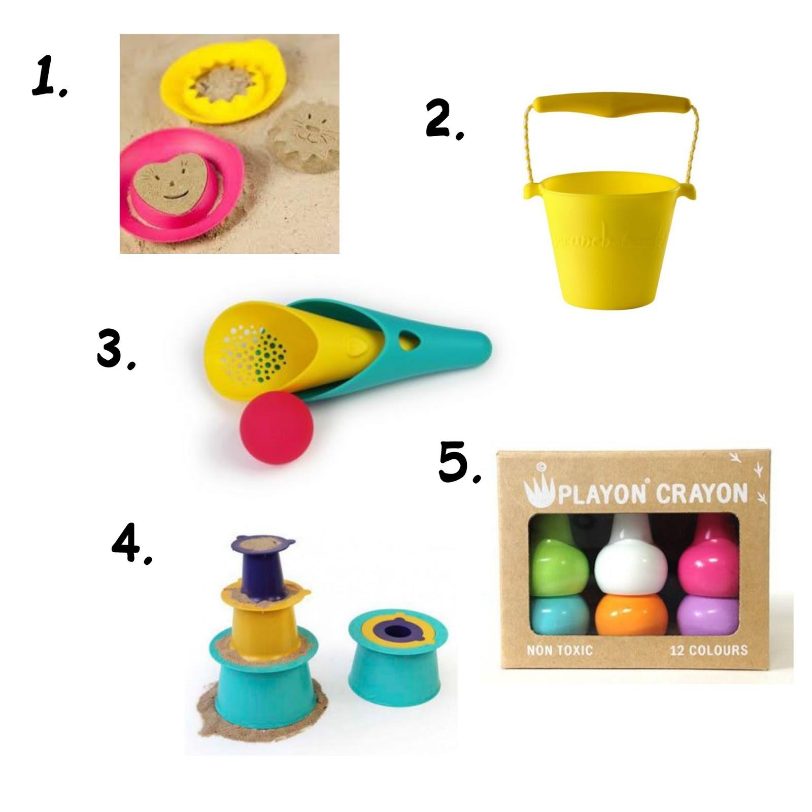 Zabawki na dwór dla rocznego dziecka